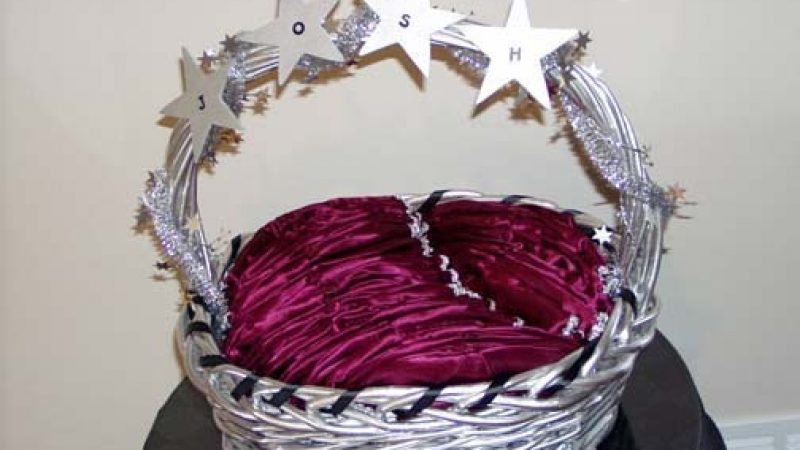 Name Yarmulke Basket