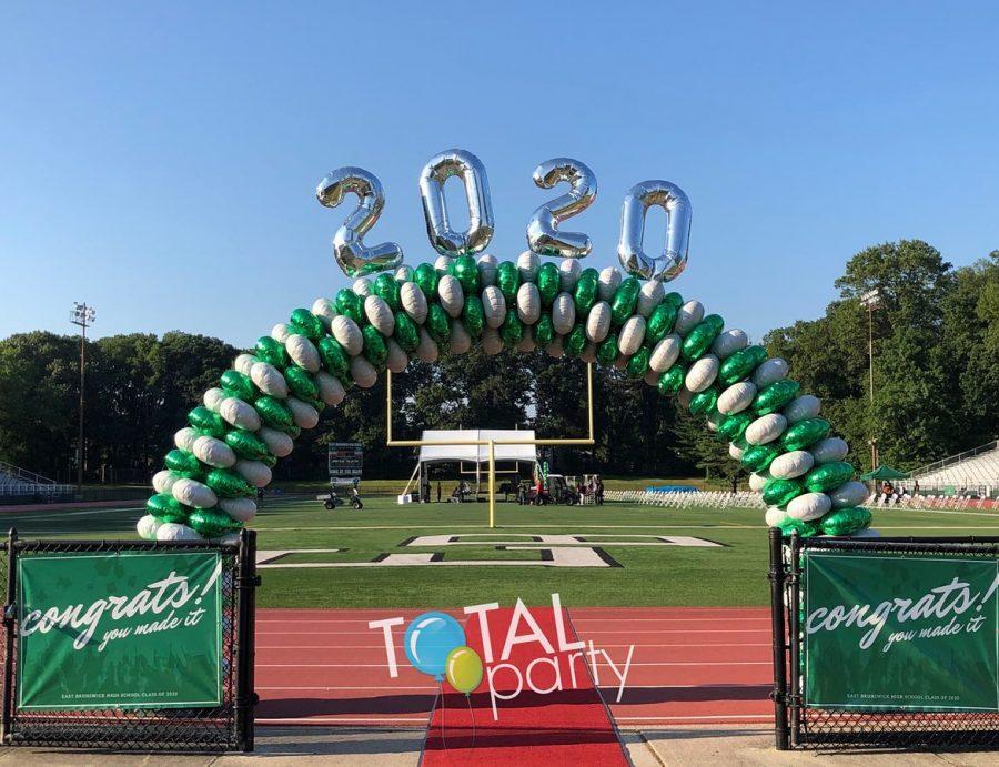 EBHS Graduation Balloons 2020