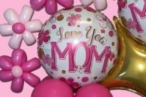 Show Mom you love her with Balloons
